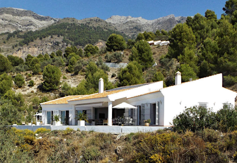 Photo of luxurious villa Casa Sierra near Canillas de Aceituno